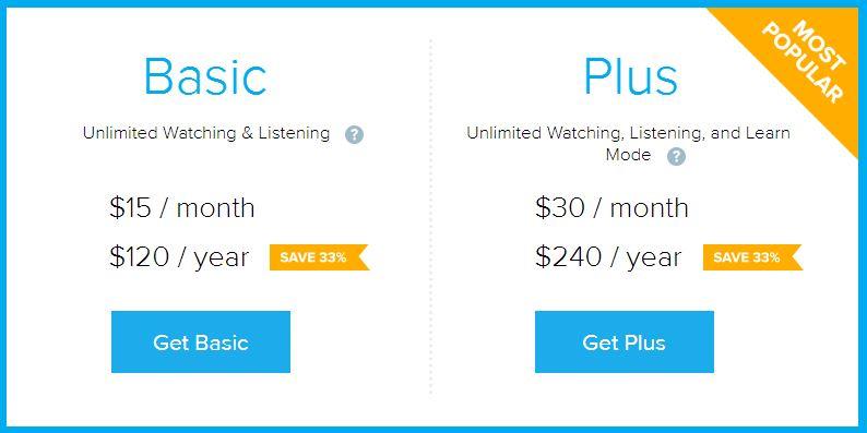 FluentU Pricing