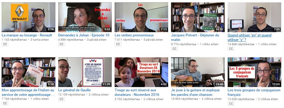 francais authentique youtube