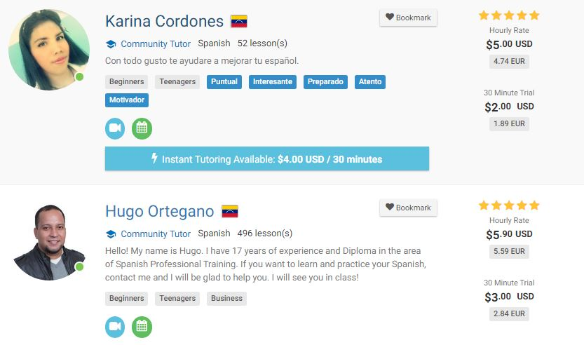 How to Find a Spanish Tutor Online