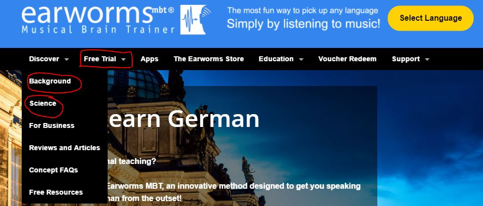 Earworms Language Courses Review